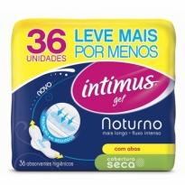 Absorvente Intimus Noturno Seca Com Abas 36 unid