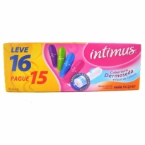 Absorvente Interno Intimus Super 16 unid