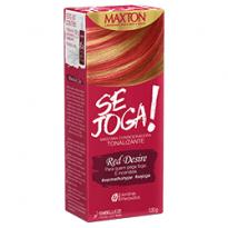 Maxton Tonalizante Se Joga Red Desire 120g