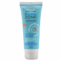 Gel Creme Anti-Acne Pure Zone Loreal Paris 75ml