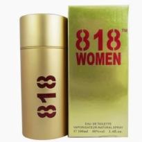 Perfume 818 Women Gold Lonkoom Eau de Toilette - 100ml