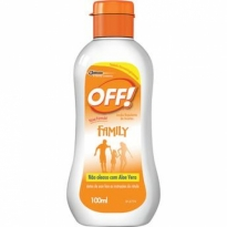 LOÇÃO REPELENTE OFF! FAMILY 100ML