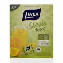 Adoçante Linea Stevia 100% em Pó com 50 envelopes 30g
