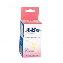 AAS 100MG INFANTIL 120 COMPR