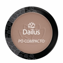 Dailus Pó Compacto New Cor 10 Marrom Claro