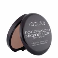 Dailus Pó Compacto Micronizado com Espelho Cor 10 Bronze