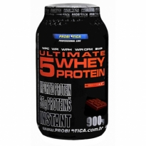 Ultimate 5 Whey Protein Sabor Cookies de Chocolate com 900g