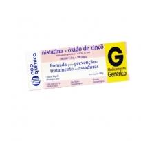 Nistatina + Óxido de Zinco creme vaginal com 60 gramas