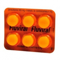 Fluviral Blister com 6 comprimidos