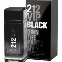 PERFUME MASCULINO 212 VIP BLACK EAU DE PARFUM CAROLINA HERRERA 50ML