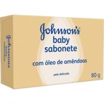 SABONETE JOHNSON'S BABY ÓLEO DE AMÊNDOA 80GR