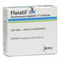 Floratil 200 mg Pó 6 Envelopes