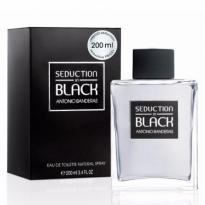 Perfume SEDUCTION IN BLACK FOR MAN Antonio Banderas - 200ml