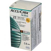Tiras Accu-Chek Active com 25 unidades