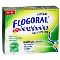 FLOGORAL MENTA CX 12 PAST