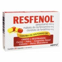 RESFENOL CX 20 CAPS