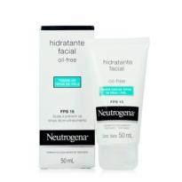 Neutrogena Gel Creme Hidratante Facial Todos os Tipos de Pele FPS 15 50ml