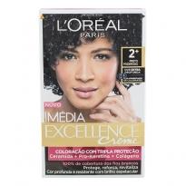 Tintura Creme Imédia Excellence L'oréal Preto Poderoso 2+