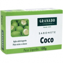 SABONETE GRANADO COCO 100GR