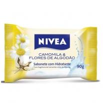 Sabonete Nivea Camomila & Flor de Algodão 90g