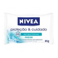 Sabonete Nivea Proteção & Cuidado Antibacteriano Fresh 85g