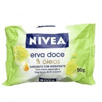 Sabonete Nivea Erva doce e Óleos 90g