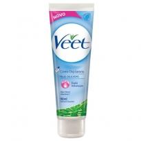 Creme Depilatório Veet para Peles Delicadas com 100 ml