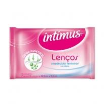 Lenços Umedecidos Femininos Intimus Odor Control