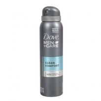 Desodorante aerosol Dove Men Care Clean Comfort 150 ml