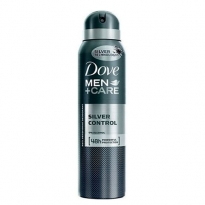 Desodorante aerosol Dove Men Care Silver Control 150 ml