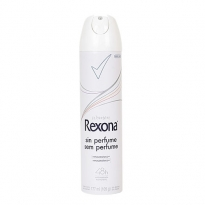 Desodorante aerosol Rexona Sem Perfume 175ml