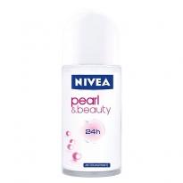 Desodorante Roll-On Nivea Pearl & Beauty com 50 ml