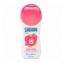 Protetor Solar Hidratante Sundown FPS 15 com 120 ml
