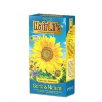 Creme Alisante HairLife com Extrato de Girassol Solto & Natural