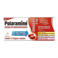 Polaramine 6mg com 12 Drágeas