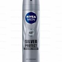DESODORANTE AEROSOL NIVEA MEN SILVER PROTECT 150ML