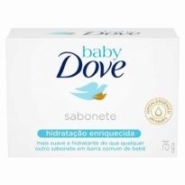 SABONETE BABY DOVE HIDRATAÇÃO ENRIQUECIDA 75G