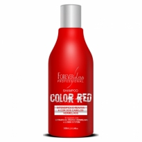 Shampoo Color Red 300ml Forever Liss