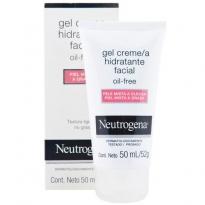 Neutrogena Gel Creme Hidratante Facial Pele Mista a Oleosa 50ml
