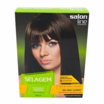 Salon Line Selagem Redutora Cabelos Castanhos 198ml