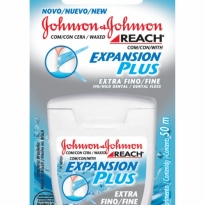 FIO DENTAL EXTRA FINO EXPANSION PLUS JOHNSON E JOHNSON 50M