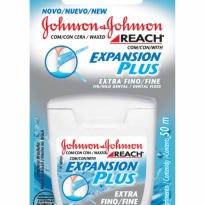 FIO DENTAL EXTRA FINO EXPANSION PLUS JOHNSON E JOHNSON 50M