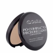 Dailus Pó Compacto Micronizado com Espelho Cor 06 Bege Natural