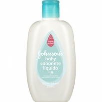 Sabonete Líquido Johnson's Baby Milk 200ml
