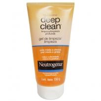 Neutrogena Deep Clean Gel de Limpeza Pele Mista a Oleosa 150g