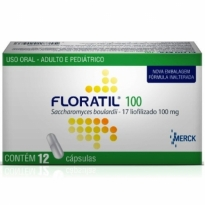 FLORATIL 100MG CX 12 CÁPS